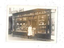 Belle Photo Ancienne Devanture Magasin : Cuisine, Patisserie, Glaces, - Métiers