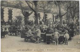 MONTPLAISIR LE LEZ  CAFE RESTAURANT ALEXANDRE     CARTE TRES RARE - France