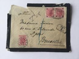 Autriche  Lettre De Ober-Vellach Vers St Gilles Belgique Avec YT 70 Et Taxée En Belgique En 1902 - Covers & Documents