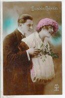 Cpa Fantaisie Couple  - Bonne Annee - Couples