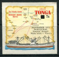 Tonga 1972 Inaugural Internal Airmail MNH (SG 428) - Tonga (1970-...)