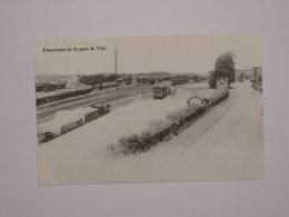 Gare De Visé - Panorama En 1898 - Reproduction - Visé