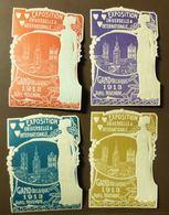 Werbemarke Cinderella Poster Stamp Exposition Gand 1913  #1774 - Erinnophilie