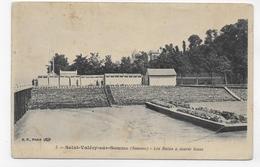 SAINT VALERY SUR SOMME - N° 5 - LES BAINS A MAREE BASSE - CPA NON VOYAGEE - Saint Valery Sur Somme