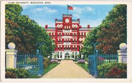 Clark Unicersity, Worcester Mass. - Worcester