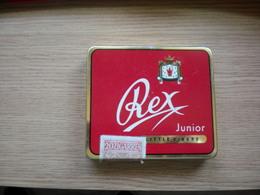 Old Tin Box Rex Junior Gautschi Hauri  20 Zigarren - Cajas Para Tabaco (vacios)
