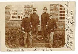 """293 - Militaires """"1903"""" - Bourg Leopold - Uniformes"""