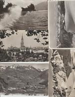 N 9  Lot 100 CPSM  Différentes De Suisse - Postcards