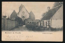 KNOKKE    L'ENTREE DE L'EGLISE   !!!MINIEM KREUKJE R.B. HOEK - Knokke