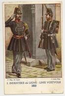 294 -Infanterie De Ligne 1853 - Uniformes