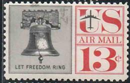 Etats-Unis 1959 Poste Aérienne Yv. N°57 - Cloche De La Liberté - Oblitéré - 2a. 1941-1960 Oblitérés