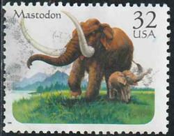 Etats-Unis 1996 Yv. N°2512 - Mastodonte - Oblitéré - Etats-Unis