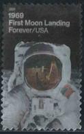Etats-Unis 2019 Yv. N°5257 - Mission Apollo Sur La Lune - Oblitéré - Etats-Unis