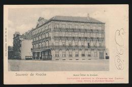 KNOKKE     GRAND HOTEL DU KURSAAL - Knokke