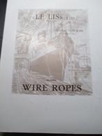 Hamme Le Lis Wire Ropes Jaren 50 Blz 60 - Ingegneria