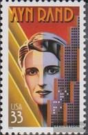 U.S. Mi.-number.: 3115 (complete Issue) Unmounted Mint / Never Hinged 1999 Ayn Rand - Vereinigte Staaten