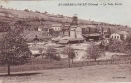 Rhône - St-Pierre-le-Palud - Le Puits Perret - France