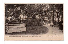 CPA - PARIS - SQUARE CAMBRONNE - Markten, Pleinen