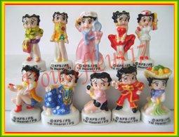 Betty Boop  .. Serie Complète... Ref. AFF : 34-2012 ... ( Panier 004) - Dessins Animés