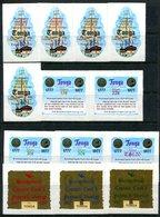 Tonga 1977 Bicentenary Of Captain Cook's Last Voyage Set MNH (SG 618-627 & O157-O159) - Tonga (1970-...)