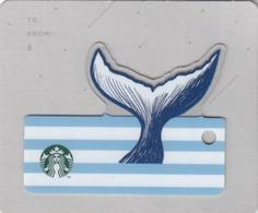 THAILAND STARBUCKS - Siren Tail (Diecut) , CN : 6167, Unused - Gift Cards