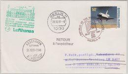 Marshall Islands - Lufthansa Erstflug Zuleitung Berlin - Kopenhagen 1991 - Micronesia