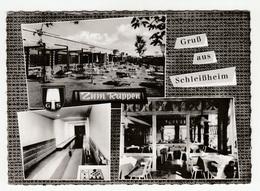 Gaststätte Zum Rappen, Oberschleißheim Old Postcard Posted 1969 To France B200225 - Oberschleissheim