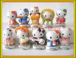 Bonjour, Hello Kitty Mat ...Serie Complète ..Ref AFF : 39-2011.. ( Pan 001 ) - Dessins Animés