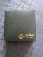 """Monnaie Commémorative Argent B.E. Dans Sa Capsule Et écrin :1f 1988 """"De Gaulle"""", Avec Certificat Monnaie De Paris - France"""