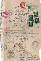 """ITALIE : GUERRE . REC . A 2,75L . DE """" PORTO .S. STEPHANO """" . CENSURÉE . POUR LA FRANCE . 1943 . - 1900-44 Vittorio Emanuele III"""