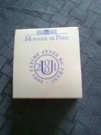 Monnaie Argent B.U. Dans Sa Capsule Et écrin :5f  2001 Avec Certificat Monnaie De Paris - France