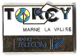FRANCE TELECOM - FT44 - TORCY - MARNE LA VALLEE - Verso : H. GALAN - France Telecom