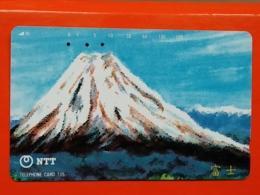 T-104 - JAPAN, TELECARD, MAGNETIC PHONECARD NTT - 291-170, VOLCANO - Japon