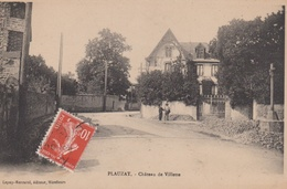 PLAUZAT  63  ( CHATEAU DE VILETTE  ) - France