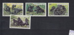 Ruanda Michel Cat.No. WWF Issue 1292/1295 Mnh/** - 1980-89: Neufs
