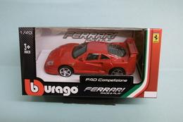 Bburago - FERRARI F40 COMPETIZIONE Rouge Burago Neuf NBO 1/43 - Burago