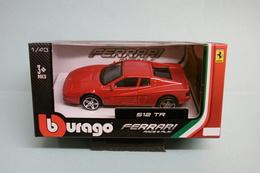 Bburago - FERRARI 512 TR Rouge Burago Neuf NBO 1/43 - Burago