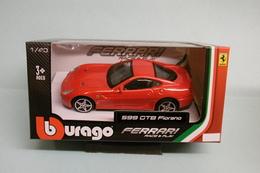 Bburago - FERRARI 599 GTB FIORANO Rouge Burago Neuf NBO 1/43 - Burago