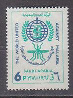 J1465 - ARABIE SAOUDITE SAUDI ARABIA Yv N°201 ** PALUDISME - Arabie Saoudite