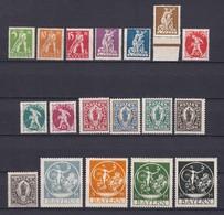 Bayern - 1920 - Michel Nr. 178/195 - Ungebr. - Bayern