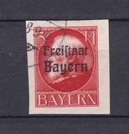 Bayern - 1920 - Michel Nr. 167 B - Gest- 35 Euro - Bavaria