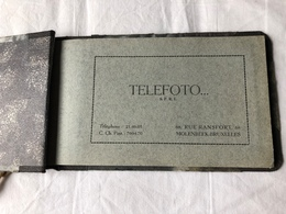 Fotoreportage Van Een Begrafenis  Door Telefoto. SPRL    12 Fotokaarten In Klein Album  (2) - Photos