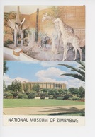 Afrique : Zimbabwe Musée National (multivues Et Faune) Cp Vierge - Zimbabwe