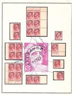 Marianne GANDON Spécial PREOS 3frs Avec Variétés Nombreuses */** - 1945-54 Marianne De Gandon