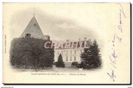 Saint Martin Du Bois CPA Chateau De Danne - France