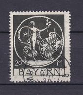 Bayern - 1920 - Michel Nr. 195 - Gest. - 42 Euro - Bavaria