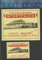 SPORTPALEIS (ANTWERPEN) DEURNE (matchbox Labels Belgium) VOEDINGSWAREN - Boites D'allumettes - Etiquettes