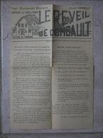 TOUNAN SECTION  SNCF LE REVEIL DE COMBAULT  CELLULE AURIBAULT PARTI COMMUNISTE FRANCAIS 1966 - Vieux Papiers