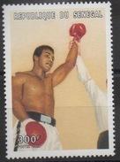 Sénégal 1999 - Mi. 1686   300 F Muhammad Mohamed Ali Boxe Boxing Sport Boxen Neuf ** MNH RARE Scarce - Senegal (1960-...)