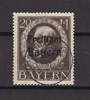 Bayern - 1919 - Michel Nr. 170 A - Gest. - 75 Euro - Bavaria